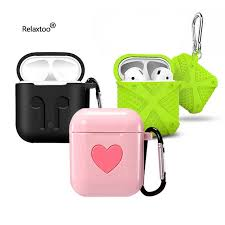 <b>For AirPods 2 Case</b> Airpod Funda Cover Support Wireless Charing ...