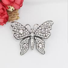 <b>Creative</b> Brooch Pin Brooch Butterfly brooch set with drill insect ...