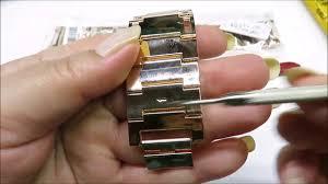 как убрать звено на браслете <b>часов</b> как поменять ремень на ...