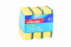 <b>Губка Vileda Tip-Top</b> д/посуды 3шт арт106067 - купить с ...