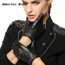 2019 Special Offer <b>Women Gloves</b> Wrist <b>Rivet</b> Sheepskin <b>Glove</b> ...
