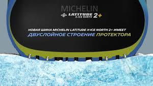 <b>MICHELIN Latitude X-Ice North</b> 2+: резиновая смесь Flex-Ice 2.0 ...