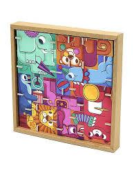 <b>Игрушки из картона krooom</b> от 3 лет: 3D пазл - головоломка Цирк ...