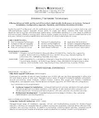 Resume Examples. Tech Resume Template Software Engineer Objective ... Resume Examples, Efrain Rodriguez Professional Experience Tech Resume Systems Network Technician Offering Advanced Skills And