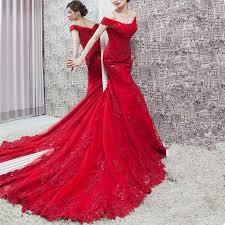 Sexy <b>Red</b> Mermaid Evening Dresses 2019 Robe De Soiree <b>V</b> Neck ...