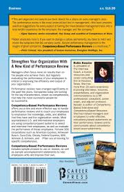 competency based performance reviews robin kessler  competency based performance reviews robin kessler 9781564149817 com books