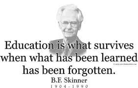 Skinner Quotes Education. QuotesGram