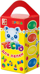 <b>Луч</b> Тесто для <b>лепки</b> 4 цвета — купить в интернет-магазине ...