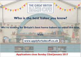 great british bake off great british bake off gbbo8 flyer