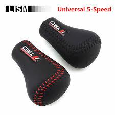 Universal MOMO AT MT <b>Leather Gear Shift Knob</b> Manual ...