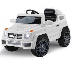 <b>Детский электромобиль Feilong</b> Mercedes G Style White 12V - HL ...