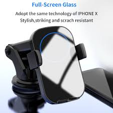 <b>N12 Car</b> Phone Holder Automatic <b>Infrared</b> Induction Fast <b>Wireless</b> ...