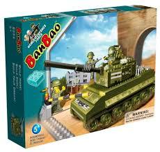 Купить <b>Конструктор</b> BanBao Военная <b>техника</b> 8234 Sherman по ...