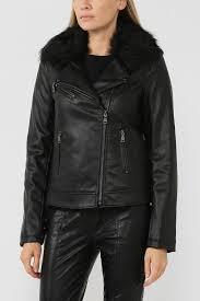 <b>Куртка</b> из экокожи с мехом <b>Twinset</b> / <b>My Twin</b> - цена ₽ купить в ...