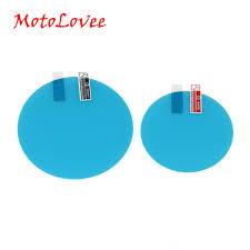 <b>MotoLovee 2pcs</b> Car Rain Film Rearview Mirror Protective Film Anti ...