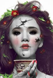 2016 creepy doll makeup tips of makeup awesome in party fashion