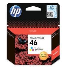 <b>Картридж</b> струйный <b>HP 46</b> CZ638AE цветной оригинальный ...