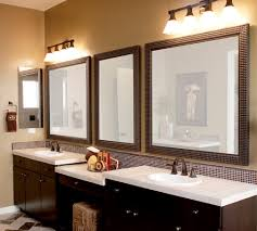 mirror frame framing mirrors pinterest perfect concept bathroom over mirror lighting ideas or plain bathroom mirror bathroom mirror lighting ideas