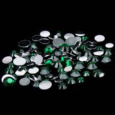 Online Shop <b>1000pcs</b> 2-5mm And <b>Mixed Sizes</b> Emerald Resin ...