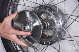 honda cb250 nighthawk cyclepedia online motorcycle repair manual honda cb250 nighthawk drum brake panel and wheel removal installation