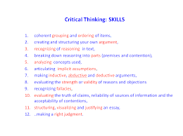 critical thinking reasoninglab ctskills middot critical thinking