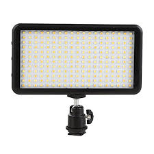 GIGALUMI <b>W228 LED Video Light</b> 6000k Dimmable Ultra Bright ...