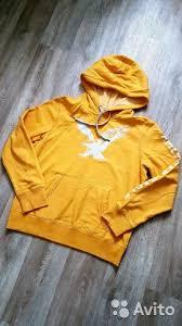 Толстовка <b>American</b> Eagle оранжевая (<b>горчичная</b>) купить в ...