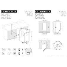 <b>Винный шкаф DUNAVOX</b> DAU-32.78DSS — купить в Санкт ...