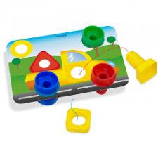 """Отзыв о Игровой <b>набор Miniland</b> """"<b>Винты</b> и гайки с карточками ..."""