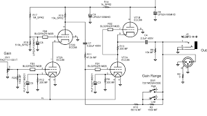 mic preamp circuit diagram the wiring diagram tube microphone preamp circuit diagram