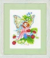 «<b>Набор для вышивания Lanarte</b> 147155 Девочка с лесной ...