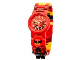 """Наручные <b>часы Ninjago Movie</b> """"Kai"""" с минифигуркой 8021414 ..."""
