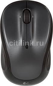 Купить <b>Мышь LOGITECH M325</b>, беспроводная, USB, черный в ...