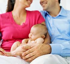 Image result for ivf couple with baby