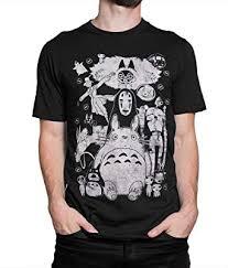 Studio Ghibli Original Art T-Shirt, Totoro Spirited Away ... - Amazon.com