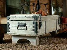 room vintage chest coffee table: old travel trunk coffee table cottage steamer trunk white chest vintage box b