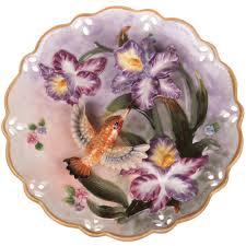 <b>Тарелка декоративная LEFARD</b> Ирисы и <b>птица</b>, d20см,керамика ...