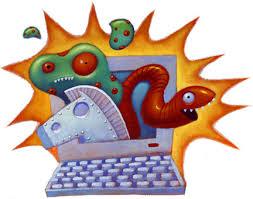 Resultado de imagen para formas de contagio/programacion de virus por gusanos de la computadora