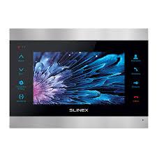 Купить <b>Видеодомофон Slinex SL</b>-<b>07M</b> (<b>silver</b>+<b>black</b> ...