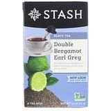 Stash Tea, <b>Black Tea</b>, <b>Double Spice</b> Chai, 18 Tea Bags, 1.1 oz (33 g ...