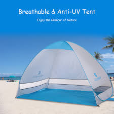 KEUMER <b>2 Persons Automatic</b> Beach Tent <b>Outdoor</b> Instant Pop up ...