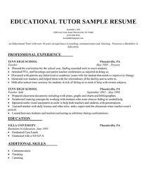 educational  tutor resume sample  resumecompanion com    resume    educational  tutor resume sample  resumecompanion com