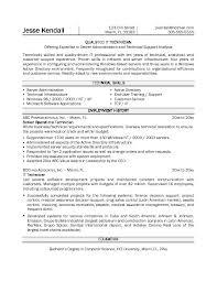 example information technology technician resume samplesample resume