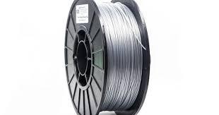 <b>Metallic Silver</b> PRO Series PLA Filament - 1.75mm (1kg ...