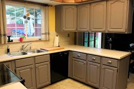 Remodeling Old Kitchen Pleasant Painting Old Kitchen Cabinets Inside Furniture After