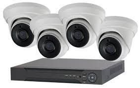 <b>Комплект видеонаблюдения IVUE</b> 1080P-IPC-D4 4 камеры ...