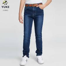 <b>YUKE New</b> Boy, Jeans Fashion Elastic band Slim Fit Jeans Men's ...