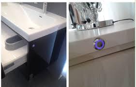 12v24v led round light switch led ir sensor switch for cabinet light sensor cabinet light switch