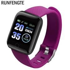 <b>New Good-Value 116 Plus</b> Smart Watch Wristband Sports Fitness ...