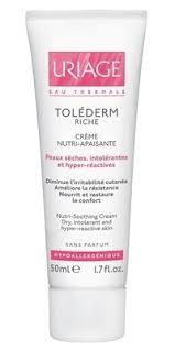 <b>Uriage Tolederm</b> rich cream 50ml bottle